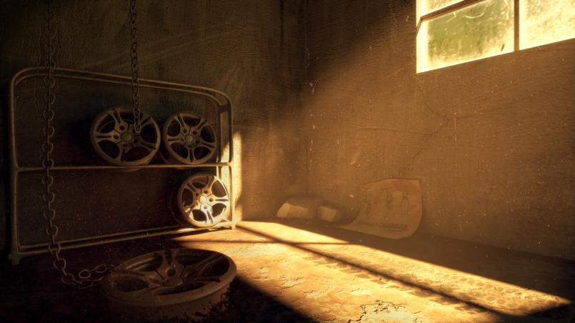 Final render of the garage