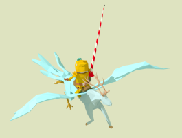 Golden Knight celebration